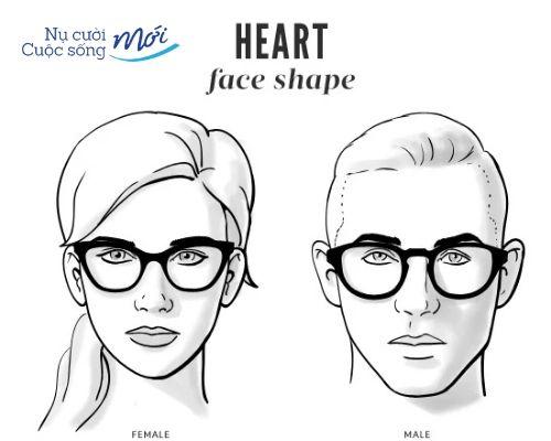 Mặt vuông chữ điền đeo kính gì?