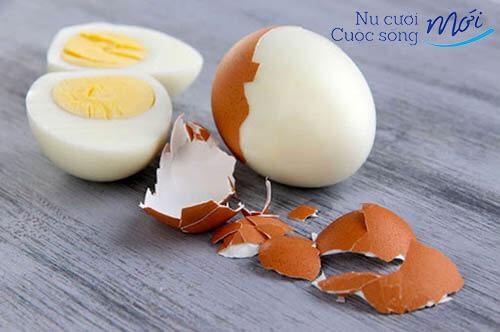 Cách trị mụn ẩn bằng trứng gà