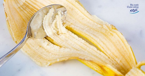 Tẩy trắng răng bằng vỏ chuối
